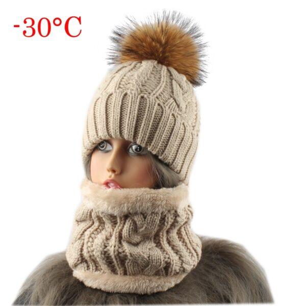 Caciula de iarna pentru femei